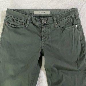 Joe's Jeans Oak Green Pants Skinny Jeans 27